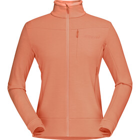 Norrøna Falketind Warmwool2 Stretch Jas Dames, flamingo